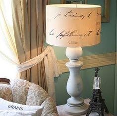 Manualiadades: Cómo decorar una pantalla de lámpara