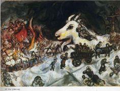 War - Marc Chagall