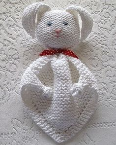 We Like Knitting: Bunny Blanket Buddy - Free Pattern