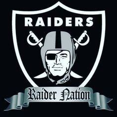 Shop hundreds of officially licensed Oakland Raiders NFL Football products, merchandise, and other gear! Fan Shop HQ is THE place for Oakland Raiders fans! Oakland Raiders Logo, Oakland Athletics, Raider Nation, Nfl Football, American Football, Football Memes, Football Stuff, Football Season, Nfl Season