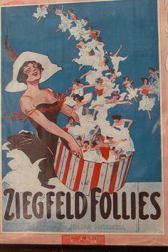 Ziegfeld Follies 1912 Sheet Music Ziegfeld Follies, Kids Playing, Vintage Posters, Ephemera, Sheet Music, Broadway Shows, Movie Posters, Painting, Ads
