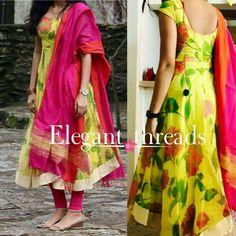 Pls send me the price Salwar Designs, Kurti Neck Designs, Kurta Designs Women, Dress Neck Designs, Kurti Designs Party Wear, Blouse Designs, Kalamkari Dresses, Ikkat Dresses, Mode Bollywood