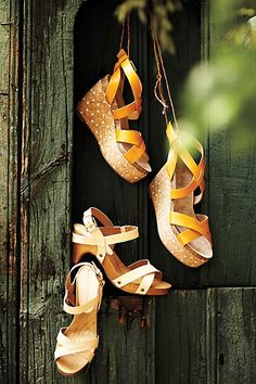 #PiperClogs #ElodieCorkWedges #Sandals #Anthropologie