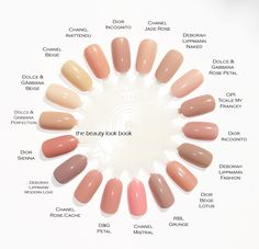 nude pink polish comparison - I see Lippman's Modern Love in my future :)