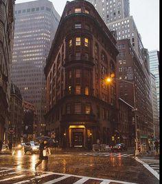 Raining in NY