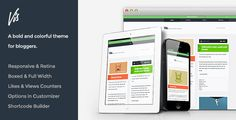 Vis - Responsive & Retina Ready Blog Theme