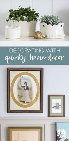 How to Add Quirky Decor to Your Home #homedecor #quirky #unique #collecting #vintagefinds #decorating Quirky Home Decor, Home Decor Store, Home Office Decor, Decorating Tips, Interior Decorating, Living Room Bookcase, Bookcase Styling, Fire Pit Designs, Beautiful Living Rooms