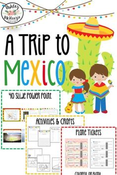This is a fun Cinco De Mayo activity to teach your students about Mexico and is very low prep!