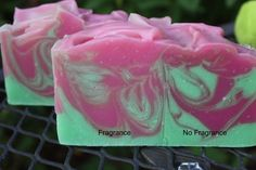 Pink sudz soap