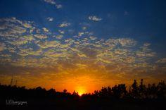 Sunset in Shushi, Artsakh