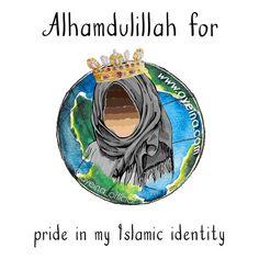 162: Alhamdulillah for pride in my Islamic identity. #AlhamdulillahForSeries