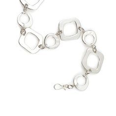"""-PRIMARY SHAPES- """" This stylish necklace casts a sophisticated air all on its own and can be layered as a belt or necklace for a bolder look."""" http://LMAWBY.mialisia.com"""