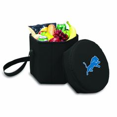 NFL Detroit Lions Bongo Insulated Collapsible Cooler Black ** Check out this great product.