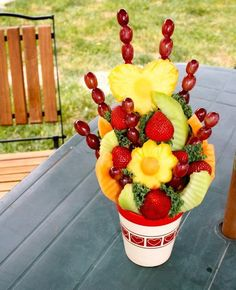 Homemade Edible Arrangement.