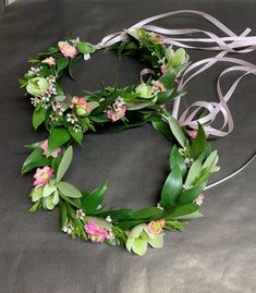 Wedding Party: Flower Girl Floral Crowns Have A Lovely Weekend, Big Day, Floral Wreath, Floral Crowns, Flower Girls, Party, Instagram Posts, Flowers, Wedding