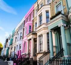 London Notting Hill Notting Hill, London, Mansions, House Styles, Travel, Home, Viajes, Manor Houses, Villas