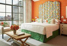 Firmdale Hotels - Crosby Street Hotel - Luxury Two Bedroom Suites Hotel Bedroom Design, Two Bedroom Suites, Bedrooms, Crosby Hotel, European Bedroom, Jim Thompson Fabric, Soho Hotel, Hotel Concept, Window Seat Cushions
