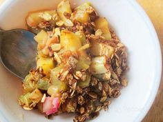 Rhubarb Apple Crisp by Raia's Recipes