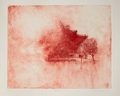 Habitat, hand pulled monoprint from copper etching plate, one of a kind piece Paper Ship, Mold Making, How To Make Paper, Habitats, Printmaking, Artworks, Copper, Plate, Drawings