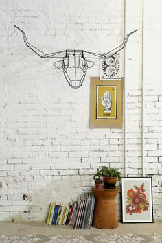 Animal Head Wall Sculpture #urbanoutfitters