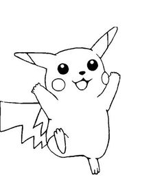 Free Printable Pikachu Coloring Pages For Kids | For Orel ...