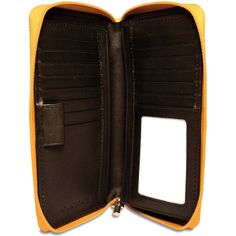 Milano Collection #3715 Zippered Checkbook/Travel Wallet