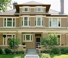 Cottage Exterior Paint Color Schemes | Exterior Paint Color Combinations | exterior house paint color schemes ...