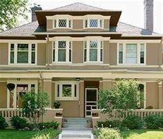 Cottage Exterior Paint Color Schemes | Exterior Paint Color Combinations | exterior house paint color schemes ...