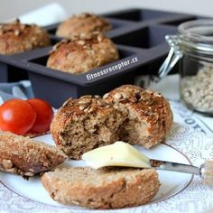 Good Food, Yummy Food, Buckwheat, Muffin, Health Fitness, Food And Drink, Low Carb, Healthy Recipes, Homemade