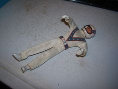 VINTAGE EVEL KNIEVEL STUNTMAN TOY ACTION FIGURE IDEAL CYCLE MOTORCYCLE STUNT MAN
