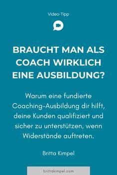 Coaches gibt es heute wie Sand am Meer. Viele davon selbsternannt und ohne Coaching-Ausbildung. Dabei basiert das, was sie als Coaching anbieten, häufig mehr auf ihrer Fachkompetenz und der Vermittlung von Wissen. Im Coaching geht es aber nicht um die Vermittlung von Wissen oder die Beratung, sondern darum, Hilfe zur Selbsthilfe zu leisten. #coaching #coach #onlinebusiness #coachingausbildung