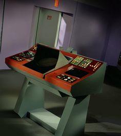 Transporter console of the USS Enterprise, NCC-1701.