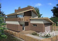 Традиционный жилой дом: архитектура, 2 эт   6м, жилье, модернизм, 100 - 200 м2, фасад - кирпич, коттедж, особняк #architecture #2fl_6m #housing #modernism #100_200m2 #facade_brick #cottage #mansion arXip.com