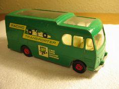 $29.99  Matchbox Lesney England 1969 K-5 BP Racing Car Transporter Diecast 1:64 Truck