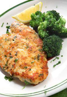 Easy Crockpot Italian Chicken Breast Recipe on Yummly. No Calorie Foods, Low Calorie Recipes, Healthy Recipes, Healthy Meals, Healthy Foods, Vegetarian Recipes, Parmesan Crusted Chicken, Breaded Chicken, Chicken Schnitzel