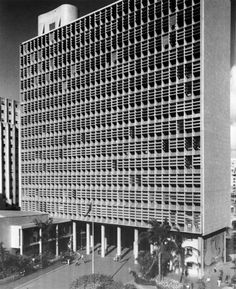 Ministry of Education and Health (MES), Rio de Janeiro, 1937-42 Architecture: Oscar Niemeyer, 1907-2012
