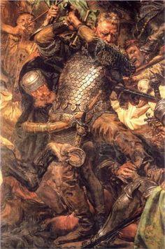 Battle of Grunwald, Jan Zizka(detail) - Jan Matejko
