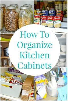 Storing like items together and getting rid of things you aren't using in your kitchen will help you keep your kitchen organized and clean.