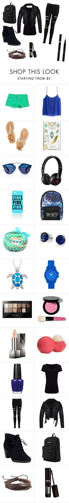 """""""Dauntless outfit"""" by fangirl-for-life-12 ❤ liked on Polyvore featuring J Brand, H&M, Ancient Greek Sandals, MANGO, Christian Dior, Beats by Dr. Dre, Disney, Ruby Rocks, Bling Jewelry and Vince Camuto"""