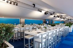 For 60 years now, Van der Maarel Eventstyling has been the creative partner for the complete styling of events and the specialist in the creation and realization of contemporary, innovative ambiance concepts tailored to your wishes. www.vandermaarel.nl