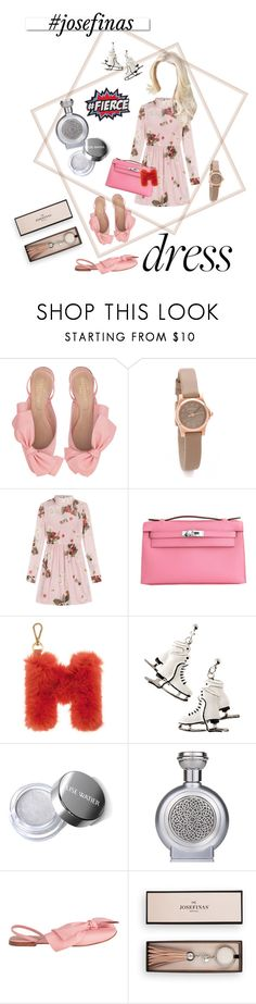 """""""The dress"""" by maryann-bunt-deile ❤ liked on Polyvore featuring Marc by Marc Jacobs, RED Valentino, Hermès, White Label, Boadicea the Victorious, partydress and josefinas"""