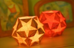make Waldorf paper lanterns