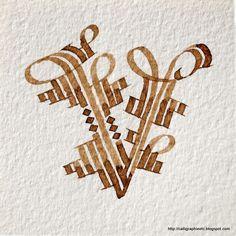 Second alphabet - Callie Caligraphy Alphabet, Calligraphy Envelope, Calligraphy Letters, Typography Letters, Alphabet Letters, Graphic Design Branding, Lettering Design, Art Postal, Drawing Letters