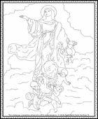 Mary Coloring Page St. John the Baptist Roman Catholic Church | Front Royal, VA | 540-635-3780