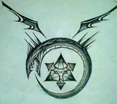 Ouroboros Tattoo Design by ~SilverSpectrum23 on deviantART