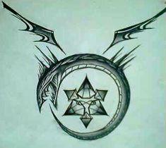 Ouroboros Tattoo Design by ~SilverSpectrum23 on deviantART