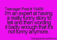 I do this ALL the time. I might as well stop with the funny stories.
