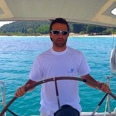 This summer sail in Halkidiki with and Sailing, Summer, Mens Tops, T Shirt, Clothes, Instagram, Fashion, Moda, Tee