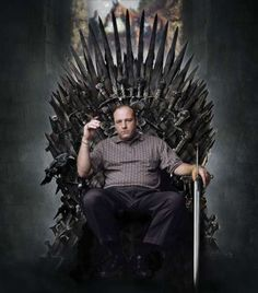 All Hail to the King, Mr. James Gandolfini. (a.k.a. Tony Soprano)