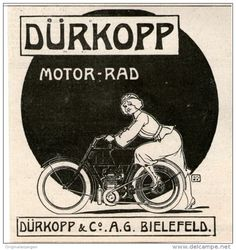 Original-Werbung/Inserat/ Anzeige 1906 - DÜRKOPP FAHRRÄDER  - ca. 90 X 90 mm